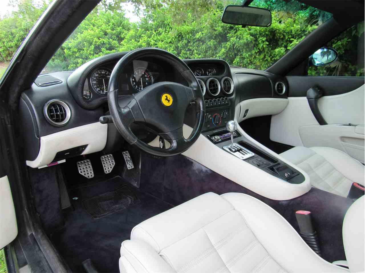 Large Picture of '98 Ferrari 550 Maranello located in Florida - JAOV
