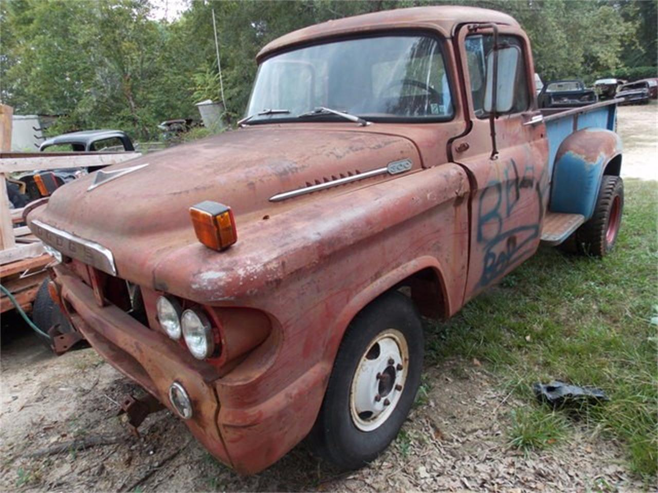 Large Picture of '58 Dodge Pickup Offered by Classic Cars of South Carolina - JCYM