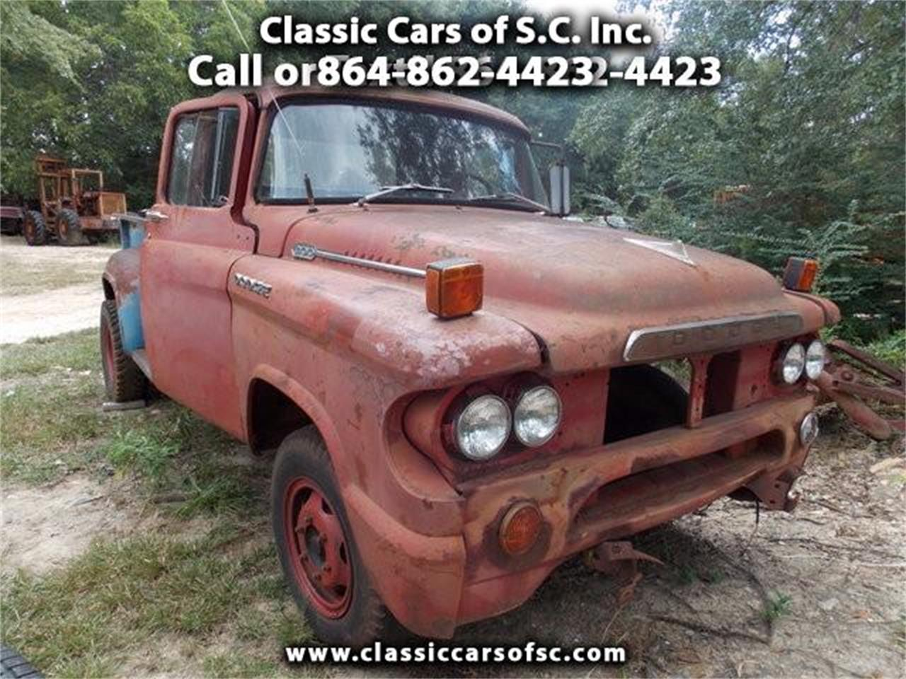 Large Picture of Classic 1958 Dodge Pickup - $2,500.00 Offered by Classic Cars of South Carolina - JCYM