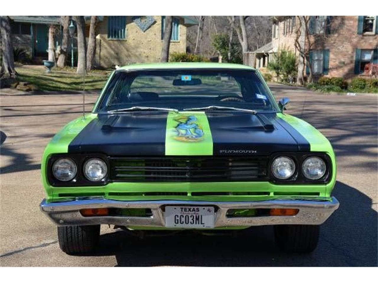 Large Picture of Classic '69 Plymouth Road Runner located in Cadillac Michigan - JCZ9