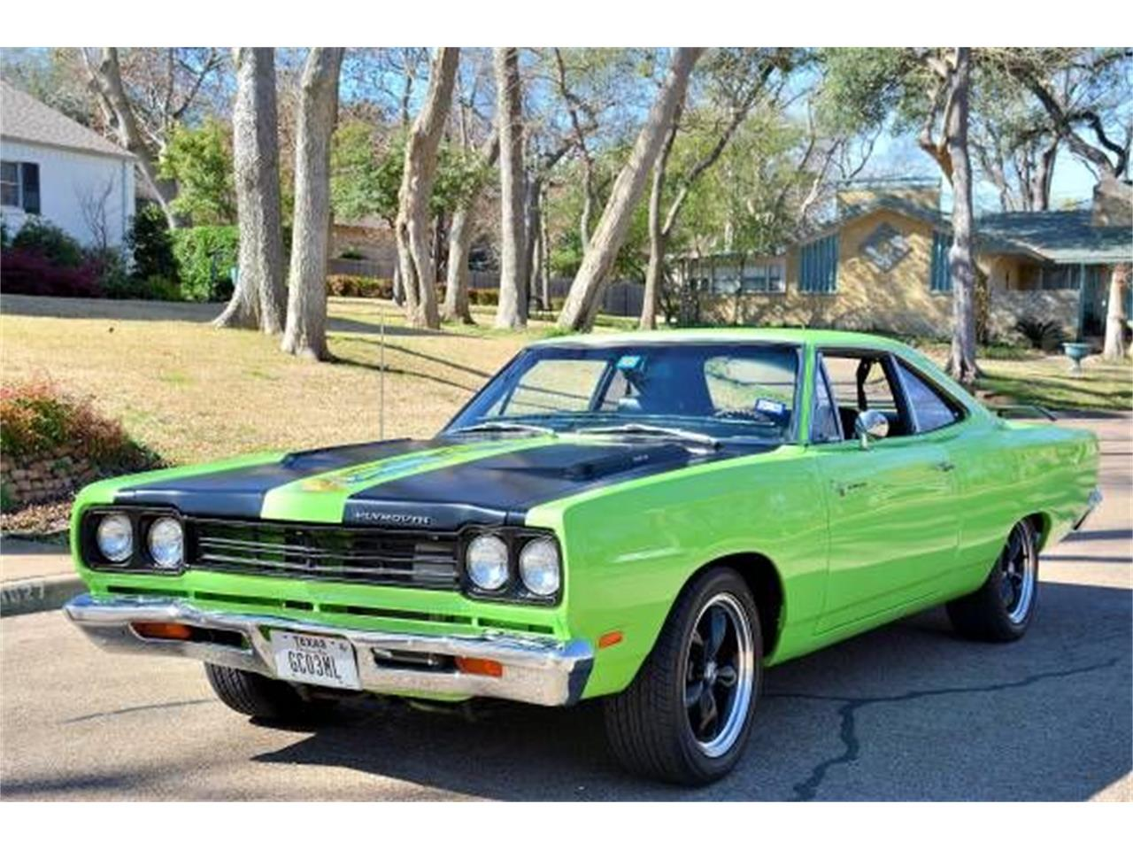 Large Picture of '69 Plymouth Road Runner located in Cadillac Michigan - JCZ9