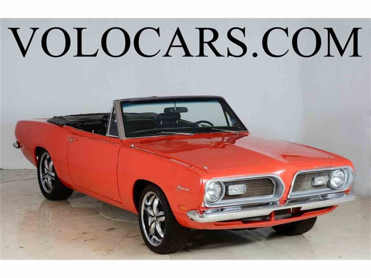 Large Picture of Classic 1969 Plymouth Barracuda located in Illinois - $28,998.00 Offered by Volo Auto Museum - JD4X