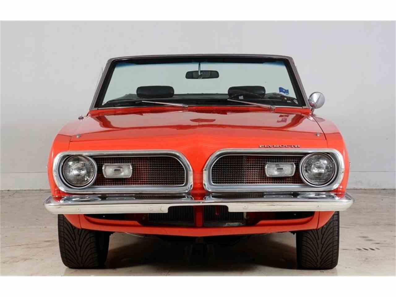 Large Picture of Classic '69 Plymouth Barracuda located in Volo Illinois Offered by Volo Auto Museum - JD4X