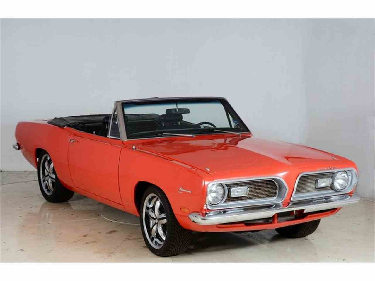 Large Picture of Classic 1969 Barracuda located in Volo Illinois - $28,998.00 Offered by Volo Auto Museum - JD4X