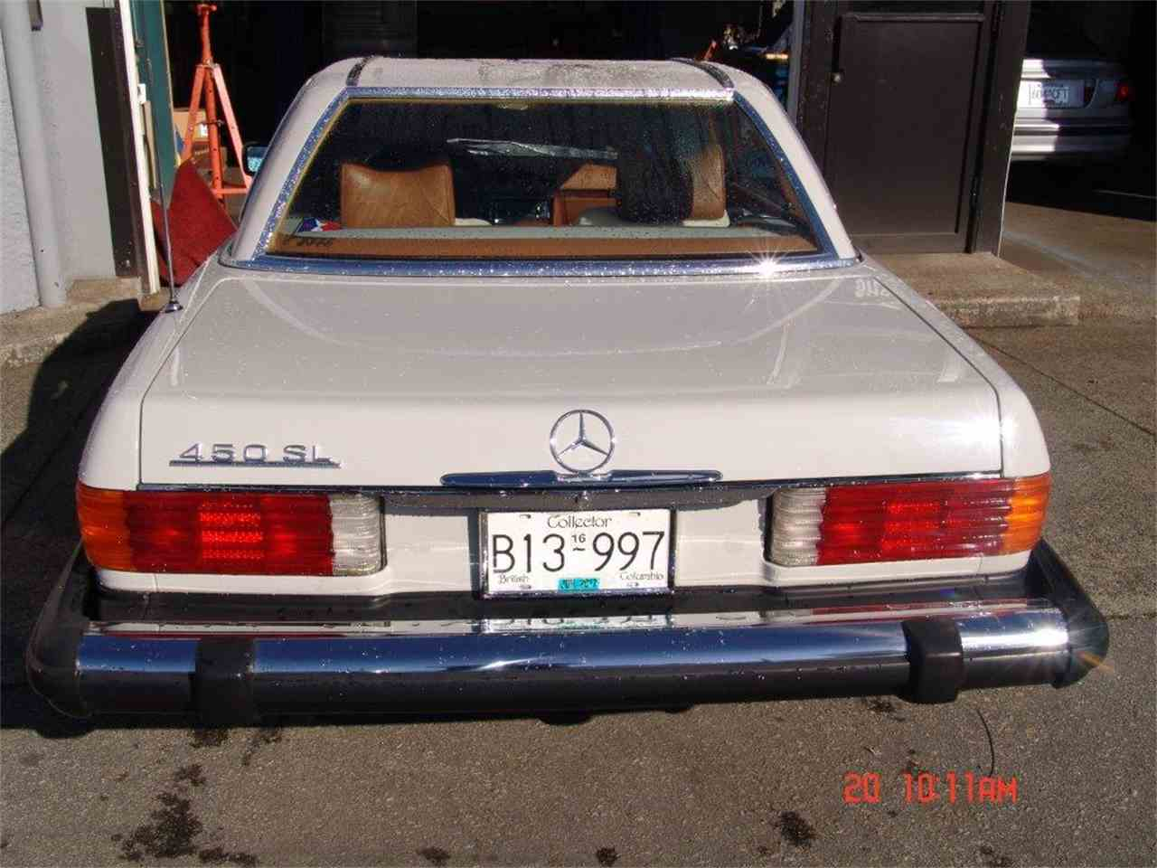 Large Picture of '79 Mercedes-Benz 450SL located in British Columbia Offered by a Private Seller - JDH4