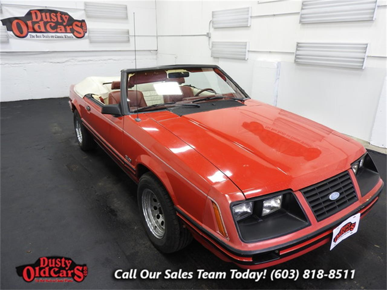 For sale 1983 ford mustang gt in derry new hampshire