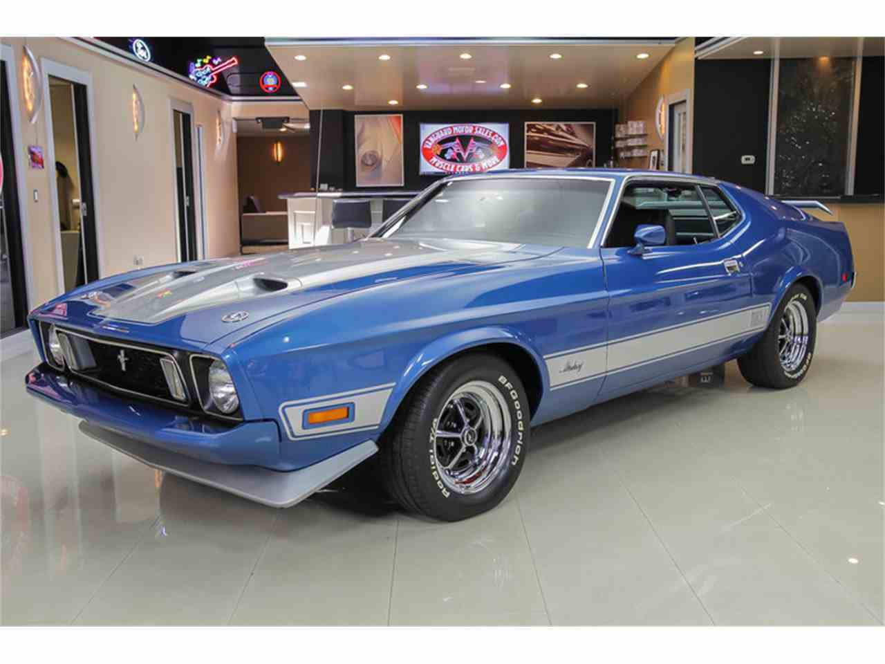 1973 ford mustang mach 1 q code for sale | classiccars | cc-904501