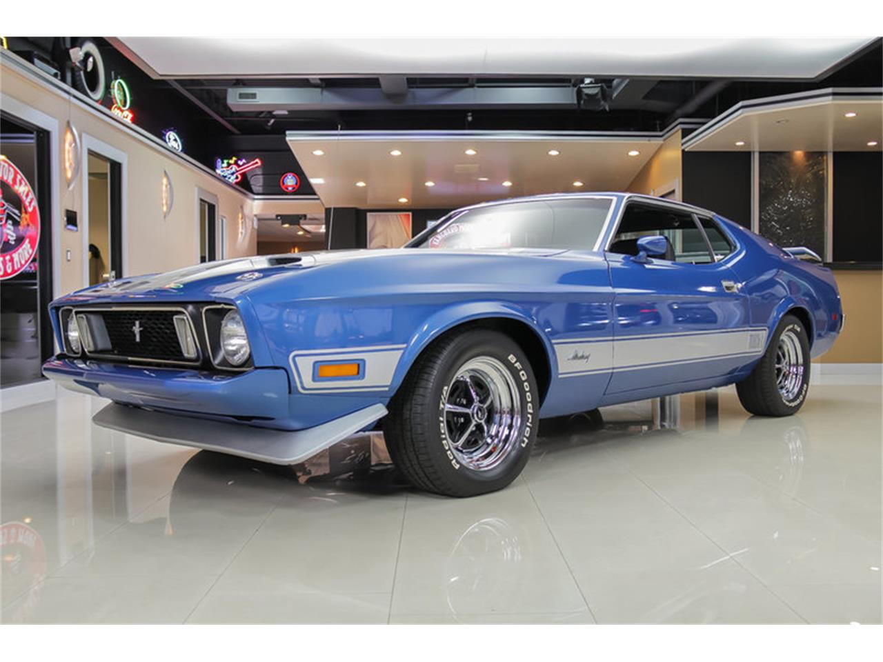 Large Picture of Classic 1973 Mustang Mach 1 Q Code Offered by Vanguard Motor Sales - JDX1
