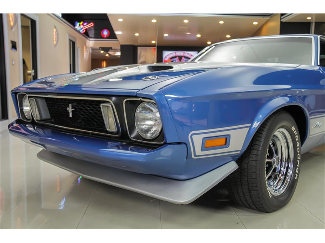 Large Picture of Classic '73 Ford Mustang Mach 1 Q Code located in Plymouth Michigan - $34,900.00 - JDX1