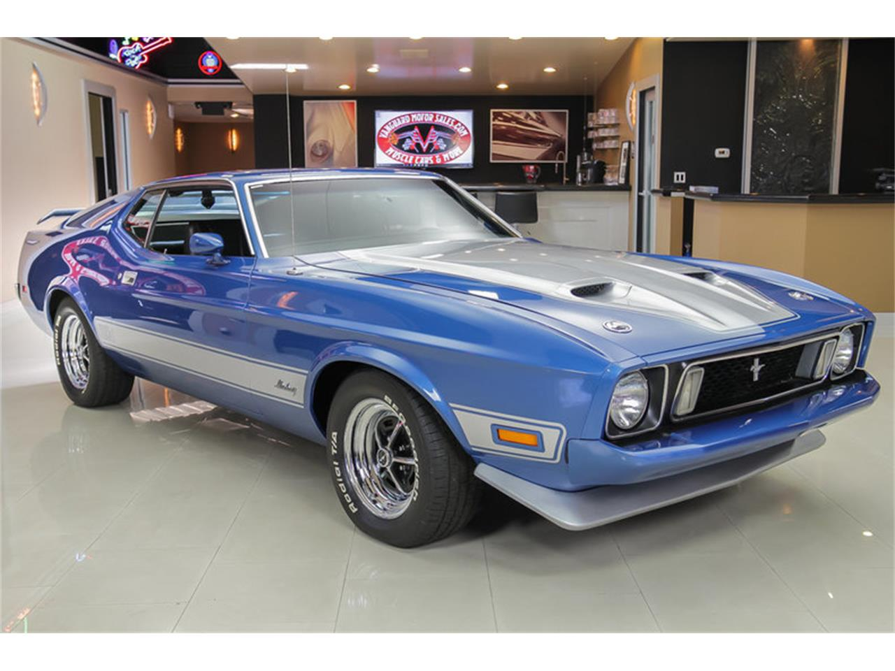 Large Picture of Classic '73 Ford Mustang Mach 1 Q Code located in Michigan - $34,900.00 - JDX1