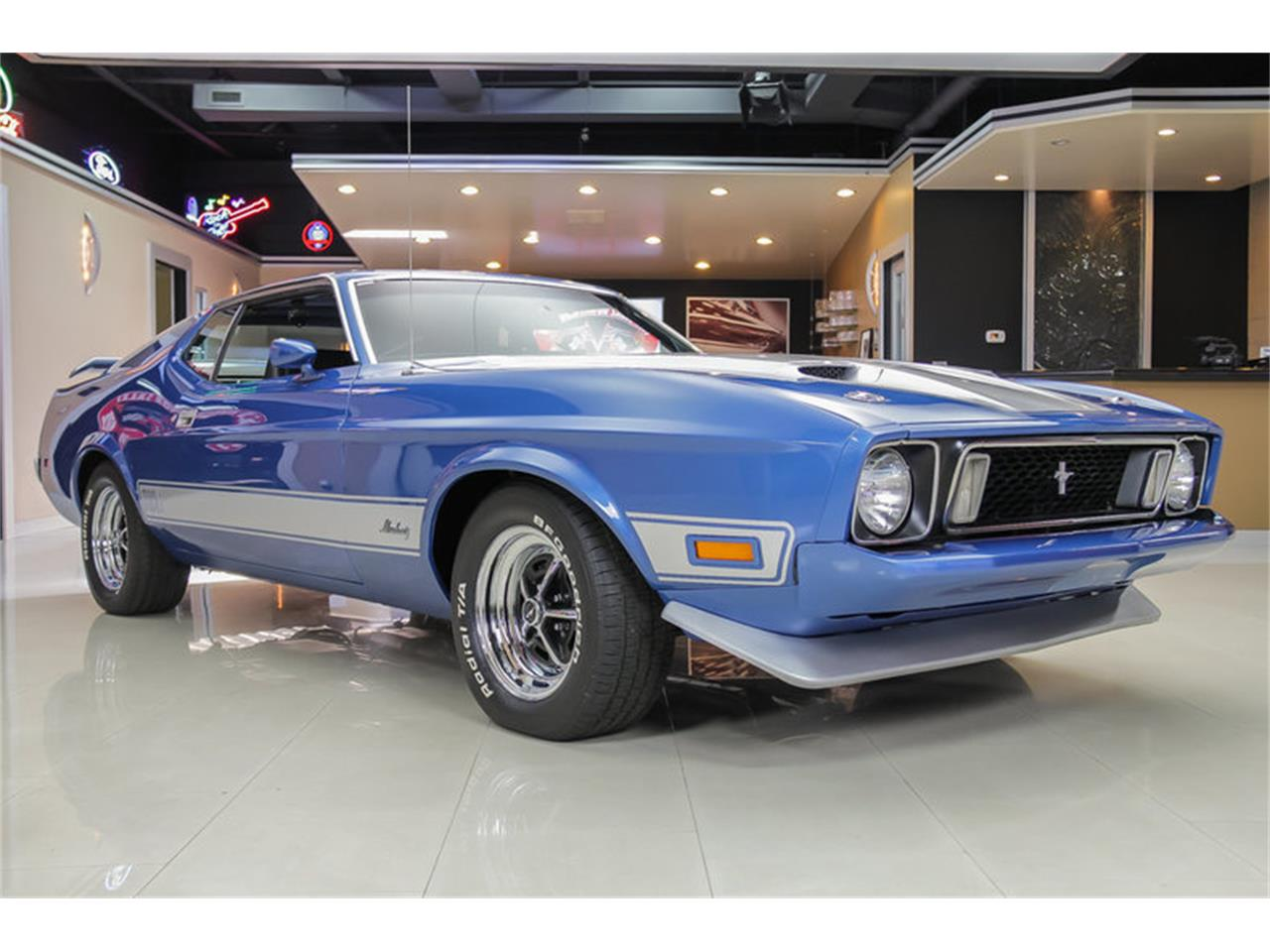 Large Picture of '73 Ford Mustang Mach 1 Q Code - $34,900.00 Offered by Vanguard Motor Sales - JDX1