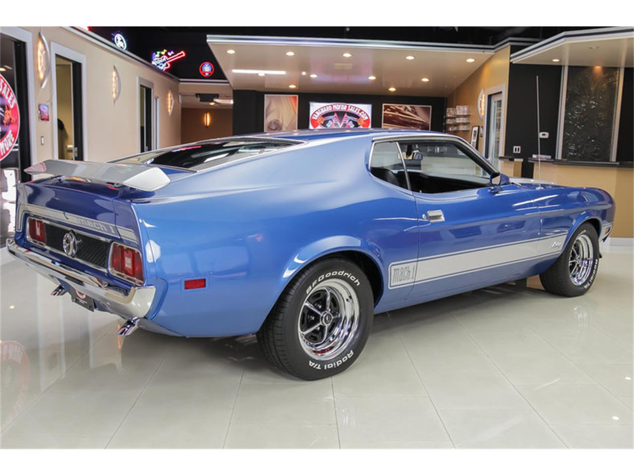 Large Picture of '73 Mustang Mach 1 Q Code located in Michigan - JDX1