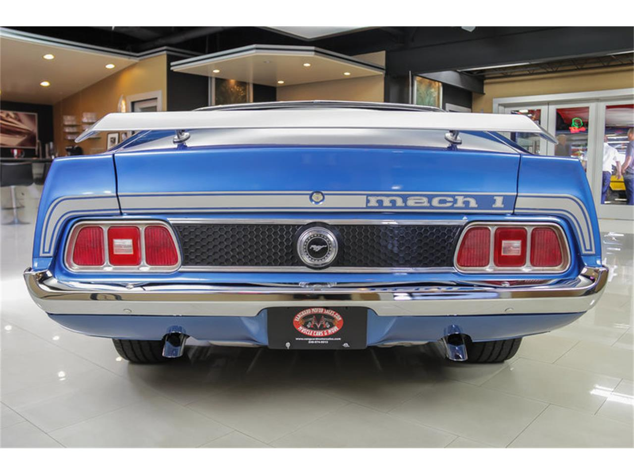 Large Picture of Classic '73 Ford Mustang Mach 1 Q Code located in Michigan - $34,900.00 Offered by Vanguard Motor Sales - JDX1