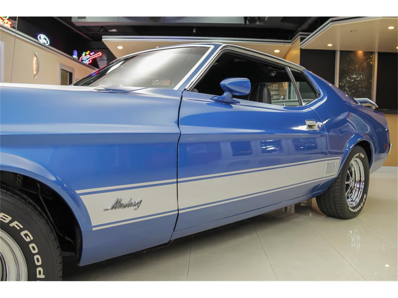 Large Picture of 1973 Mustang Mach 1 Q Code located in Plymouth Michigan Offered by Vanguard Motor Sales - JDX1