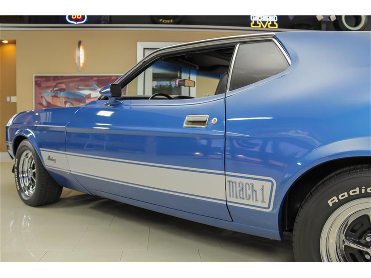 Large Picture of 1973 Mustang Mach 1 Q Code located in Michigan - JDX1