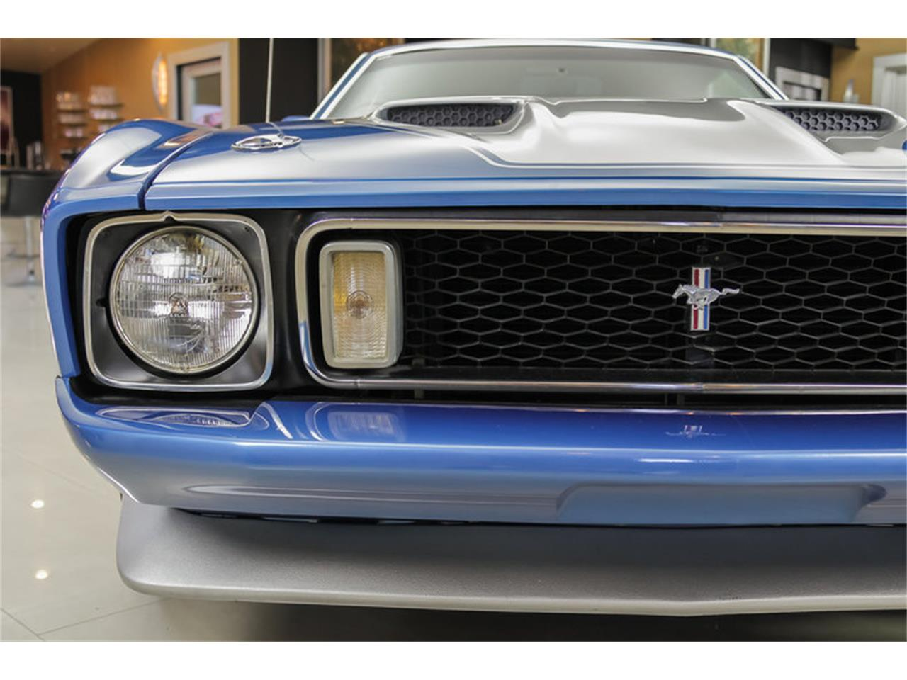 Large Picture of Classic 1973 Mustang Mach 1 Q Code located in Michigan - JDX1