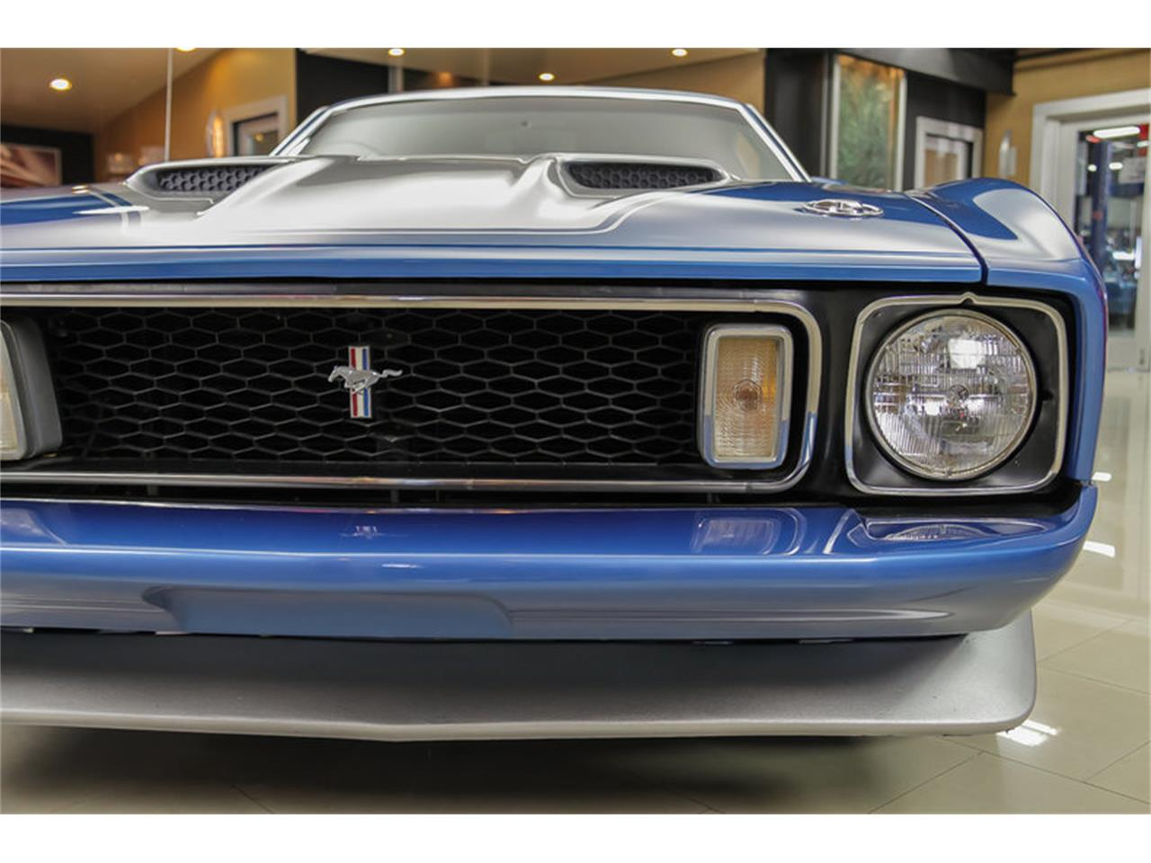 Large Picture of Classic 1973 Ford Mustang Mach 1 Q Code Offered by Vanguard Motor Sales - JDX1