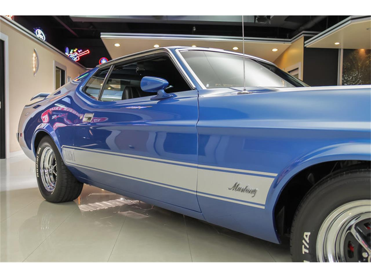 Large Picture of Classic '73 Ford Mustang Mach 1 Q Code located in Plymouth Michigan Offered by Vanguard Motor Sales - JDX1