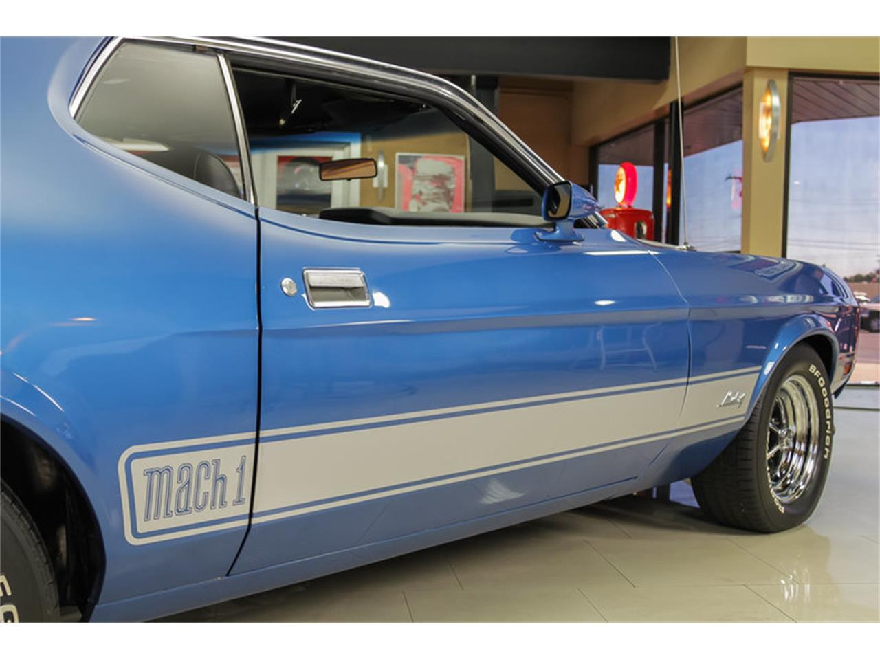 Large Picture of Classic 1973 Mustang Mach 1 Q Code located in Plymouth Michigan - JDX1