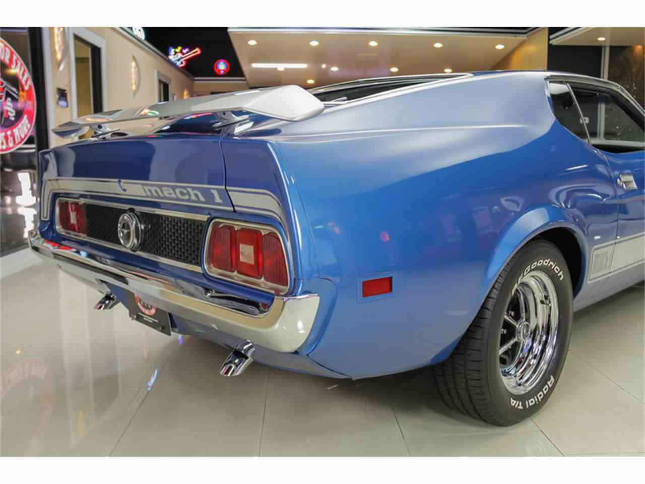 Large Picture of '73 Mustang Mach 1 Q Code - JDX1