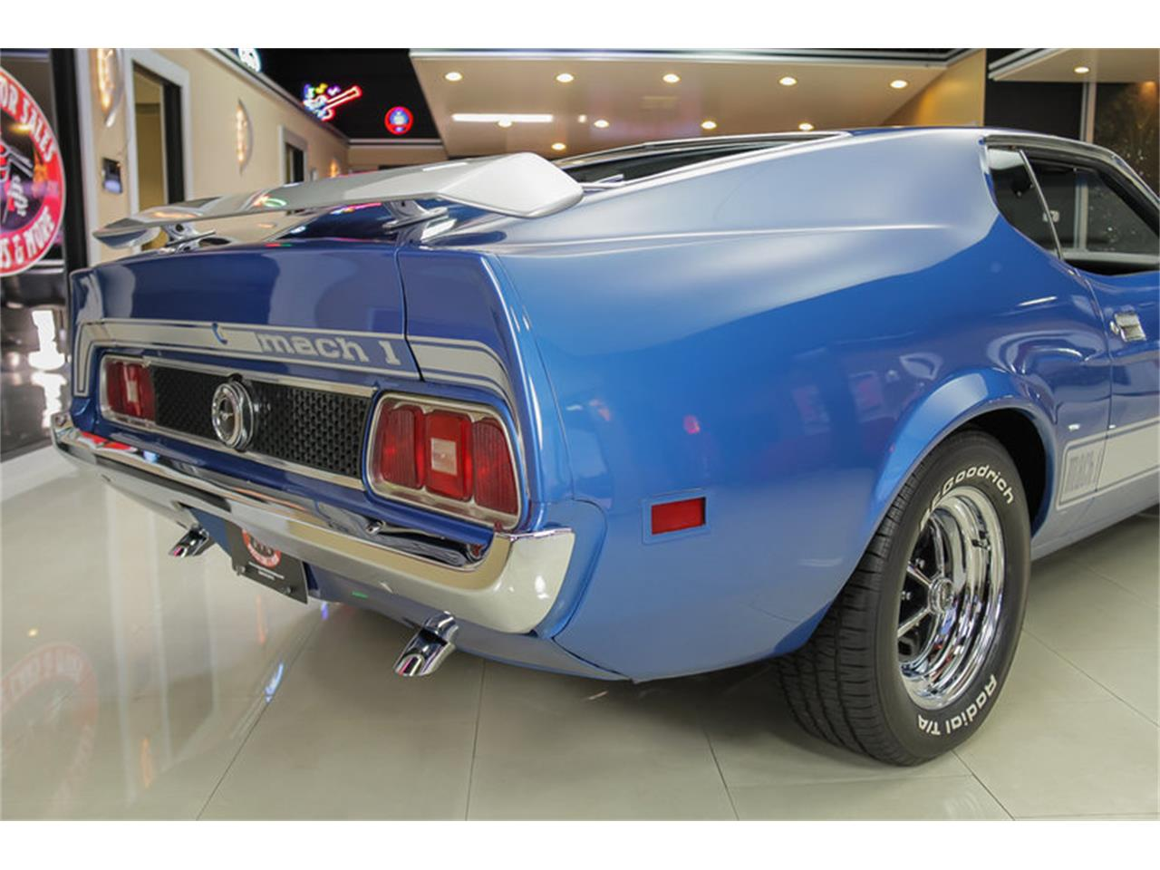 Large Picture of '73 Ford Mustang Mach 1 Q Code located in Michigan Offered by Vanguard Motor Sales - JDX1