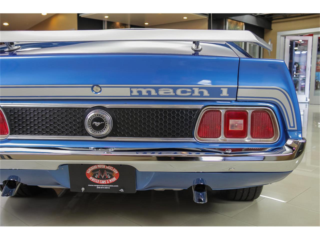 Large Picture of Classic 1973 Ford Mustang Mach 1 Q Code located in Plymouth Michigan - $34,900.00 Offered by Vanguard Motor Sales - JDX1