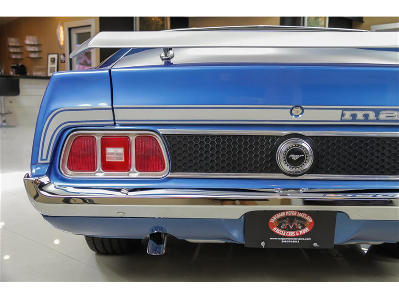 Large Picture of 1973 Ford Mustang Mach 1 Q Code located in Plymouth Michigan Offered by Vanguard Motor Sales - JDX1