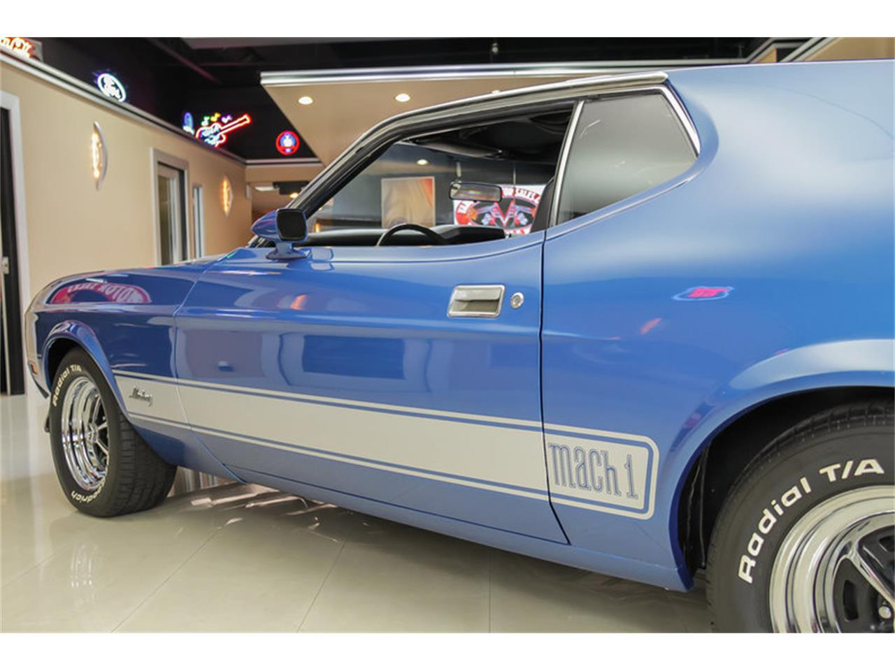 Large Picture of 1973 Mustang Mach 1 Q Code located in Plymouth Michigan - JDX1