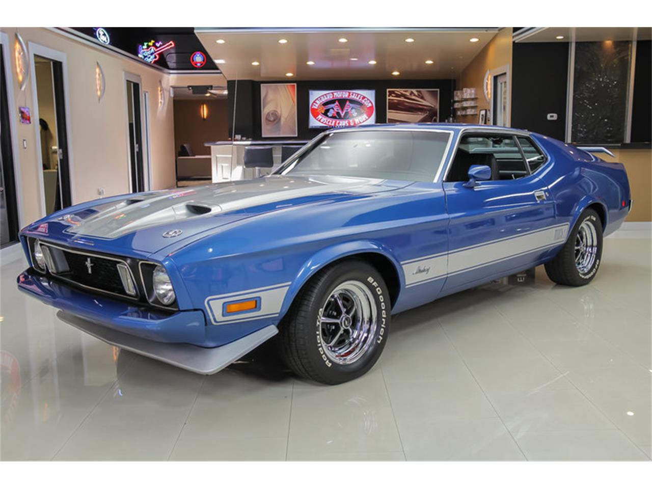 Large Picture of '73 Ford Mustang Mach 1 Q Code - JDX1