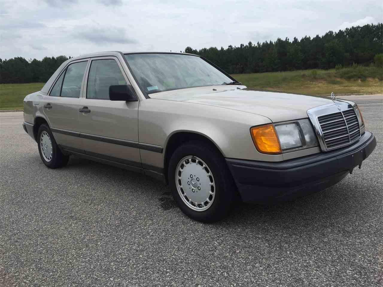 1987 mercedes benz 260e sedan for sale for Mercedes benz north carolina