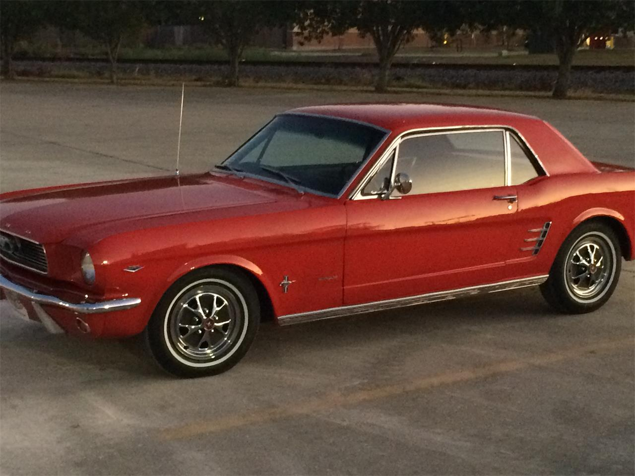 Large Picture of '66 Mustang - JEI7