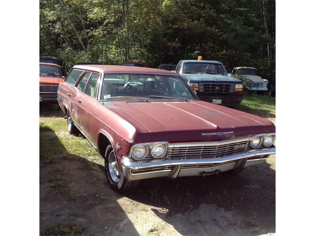 Large Picture of Classic '65 Bel Air Nomad located in Maine Offered by Champion Auto Sales - JEYK