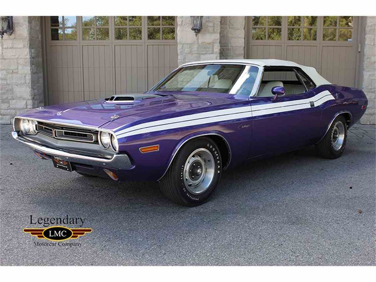 Large Picture of '71 Challenger - JF5C
