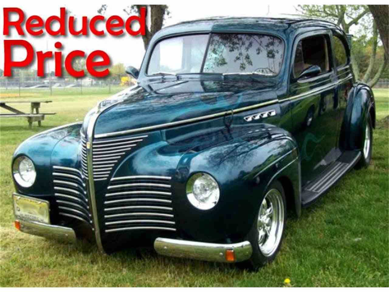 1940 Plymouth SEDAN CUSTOM For Sale