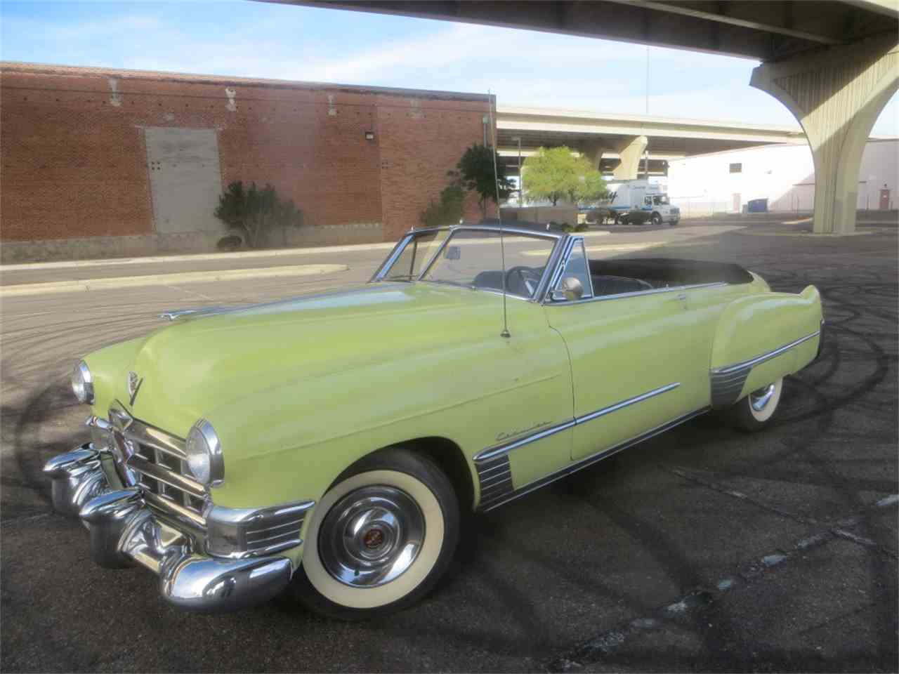 1949 cadillac convertible for sale cc 906621. Black Bedroom Furniture Sets. Home Design Ideas