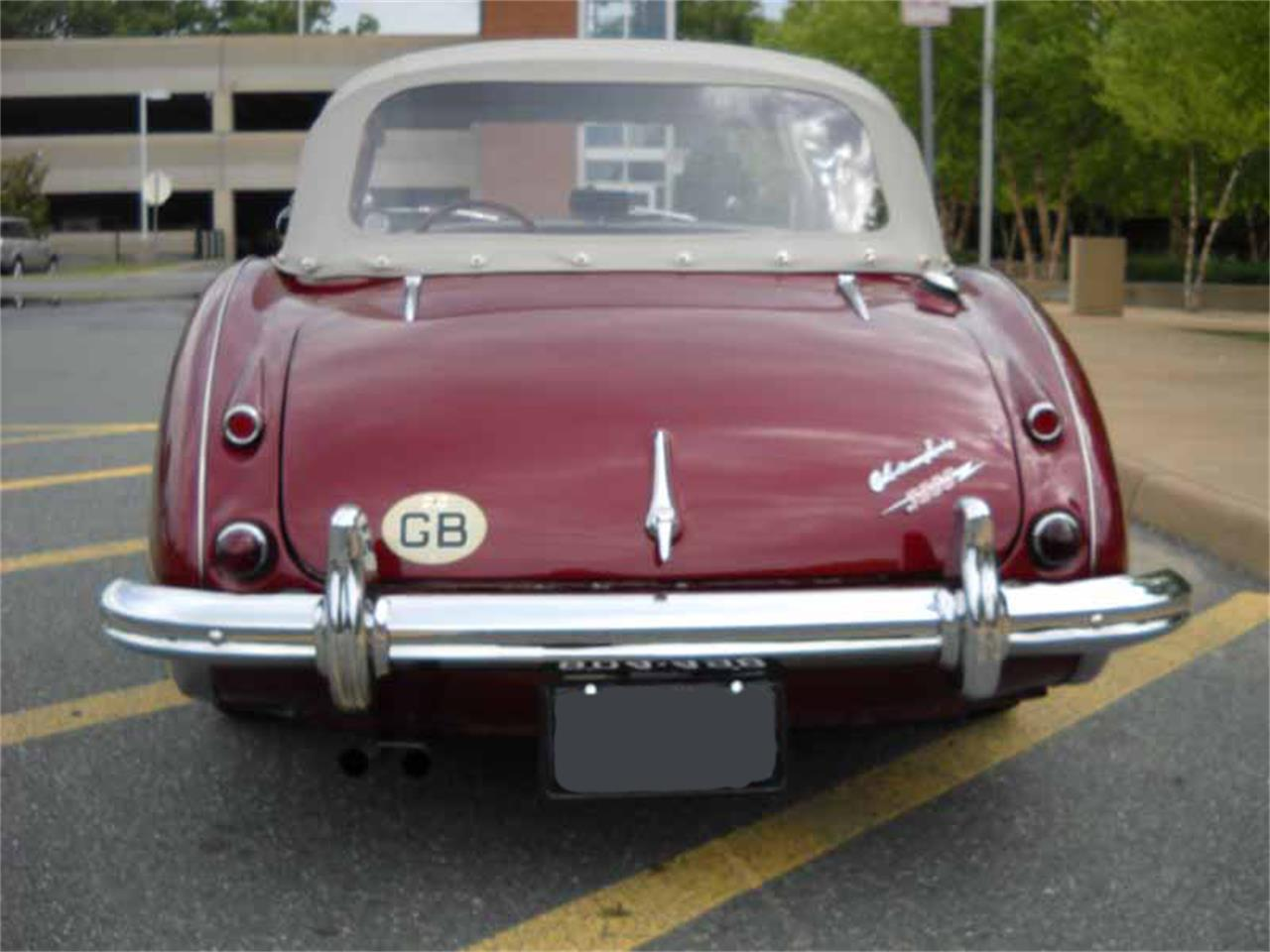 Large Picture of 1962 3000 Mk I BT7 located in Virginia Offered by Gassman Automotive - JFK9