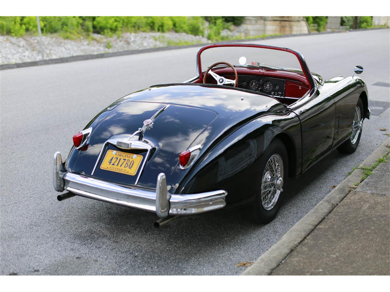 Large Picture of '59 XK150 - JFKB