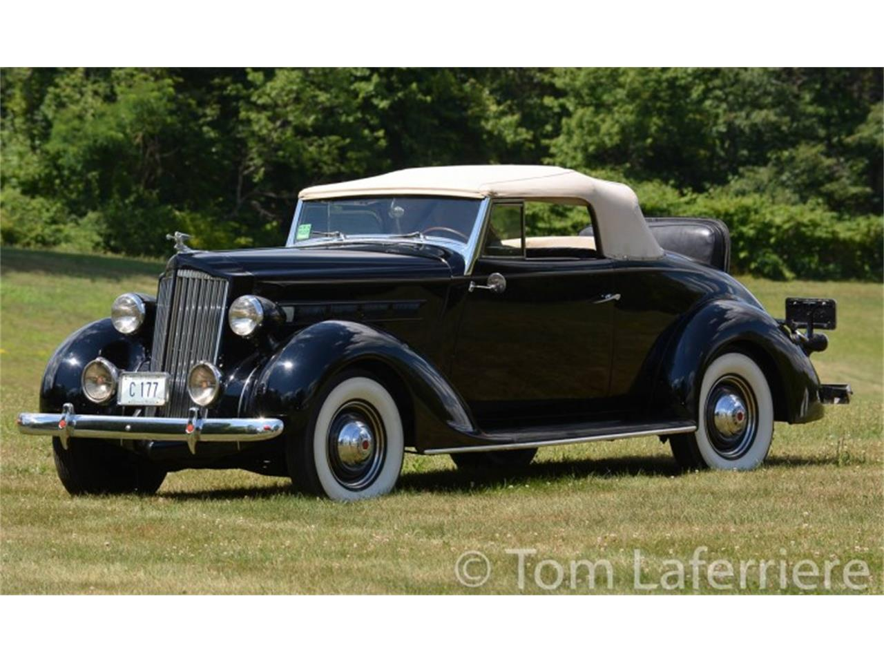1937 Packard 115 Convertible Coupe in Smithfield, Rhode Island