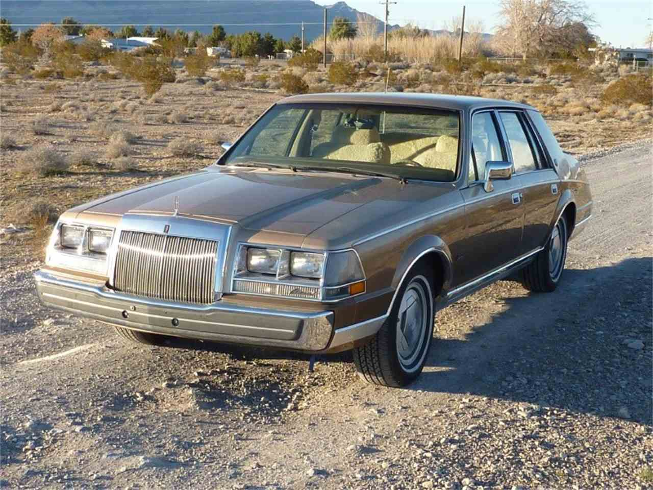 Large Picture of '86 Continental - JAZ4