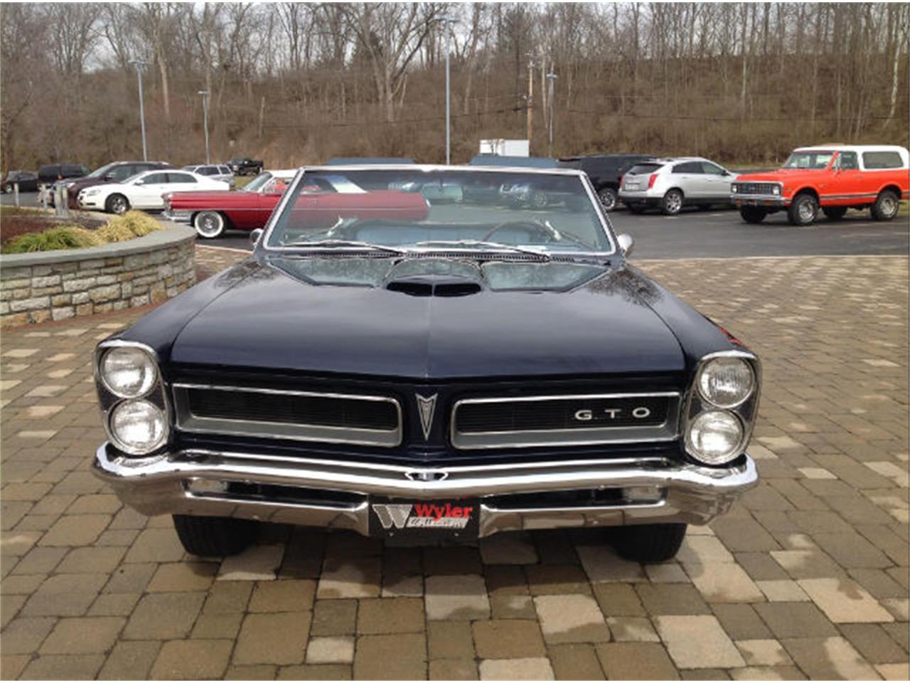 Large Picture of Classic 1965 Pontiac GTO Offered by Wyler Collection - JFZI
