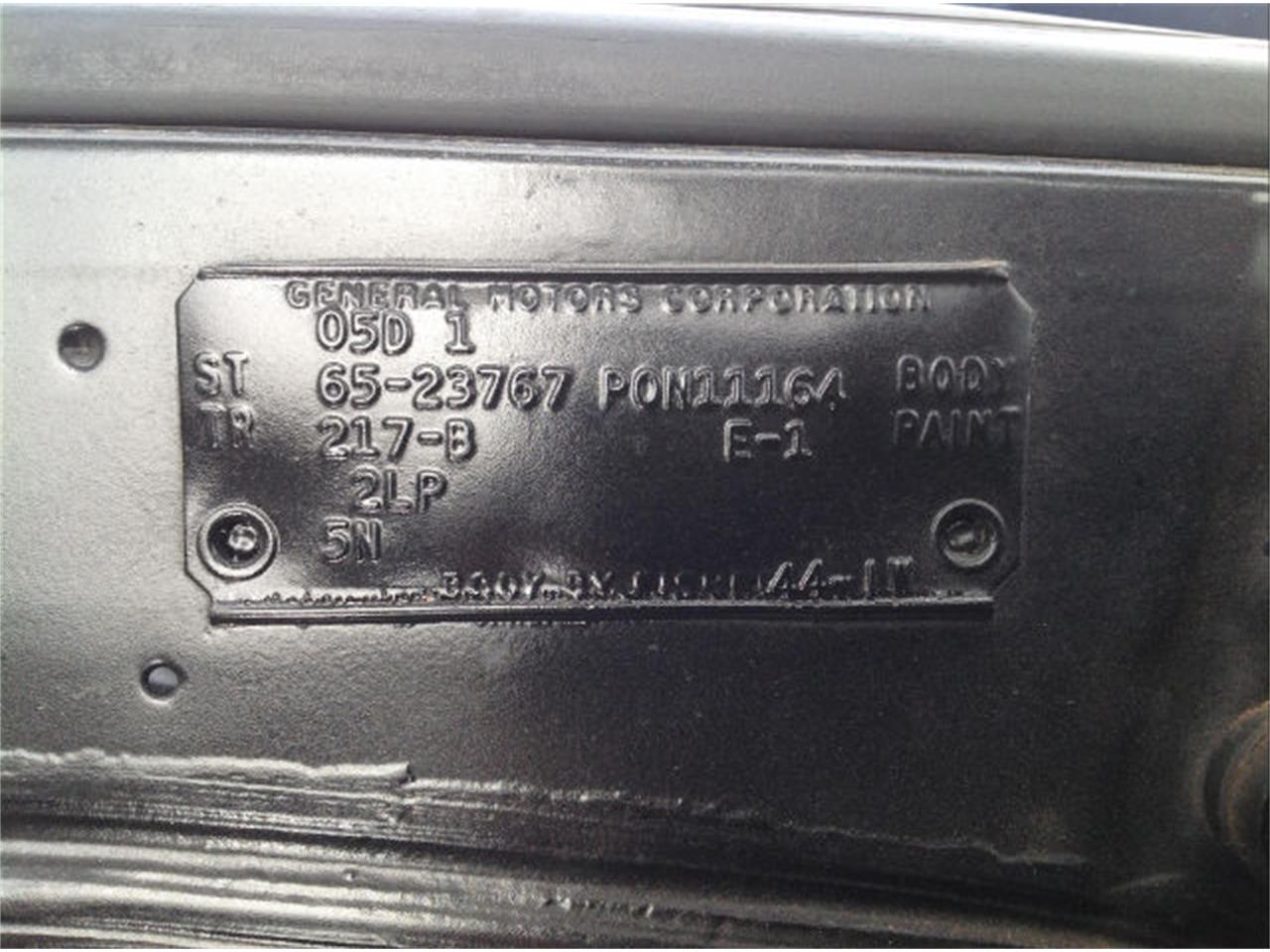 Large Picture of '65 Pontiac GTO - $72,450.00 - JFZI