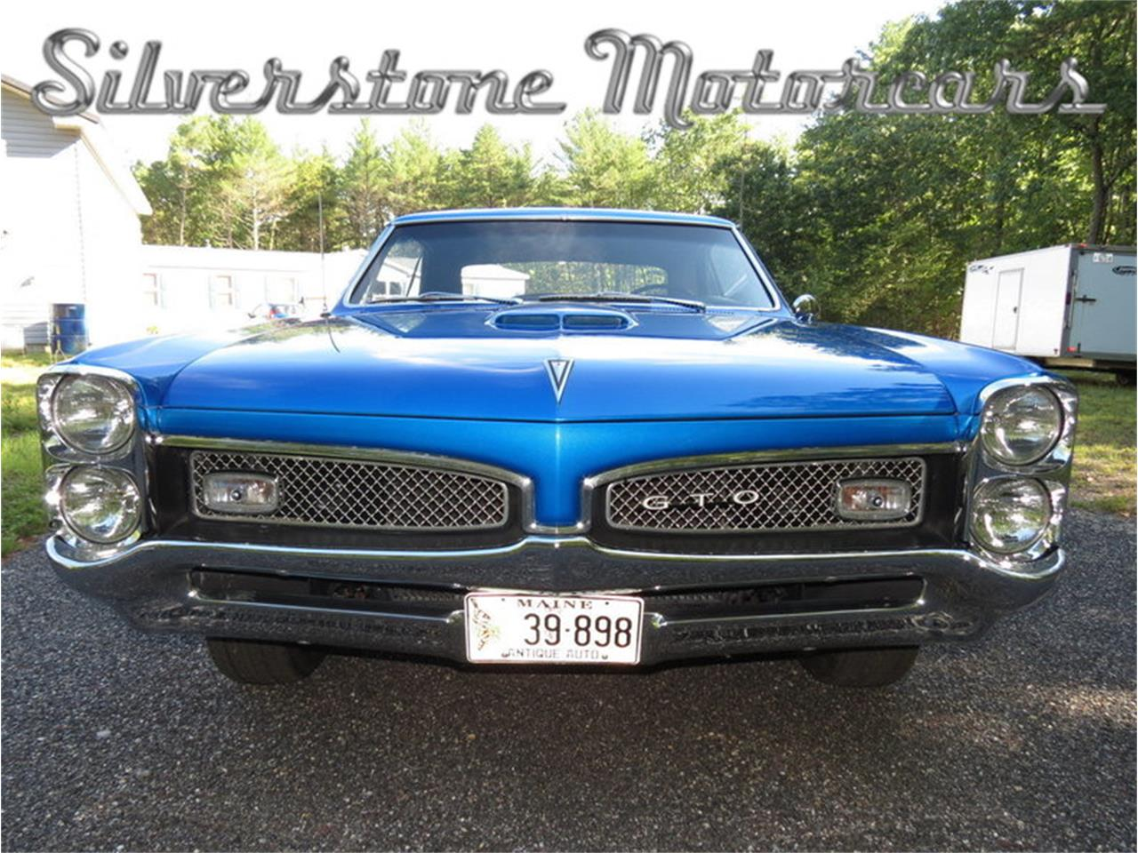 Large Picture of 1967 Pontiac GTO located in Massachusetts - $59,900.00 Offered by Silverstone Motorcars - JG3G