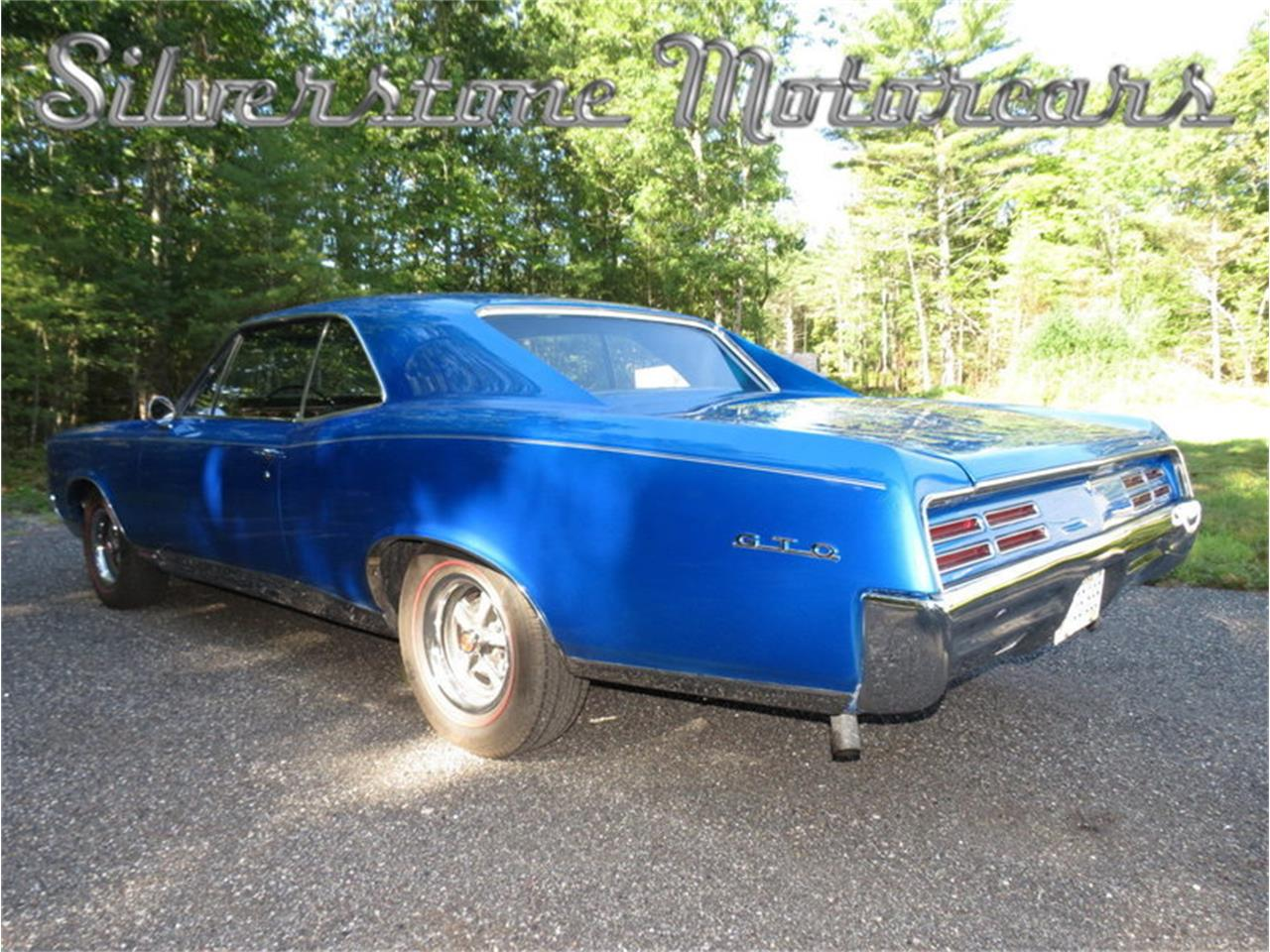 Large Picture of Classic '67 Pontiac GTO located in Massachusetts - $59,900.00 Offered by Silverstone Motorcars - JG3G