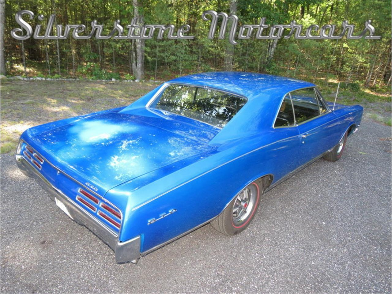 Large Picture of Classic '67 Pontiac GTO located in North Andover Massachusetts Offered by Silverstone Motorcars - JG3G