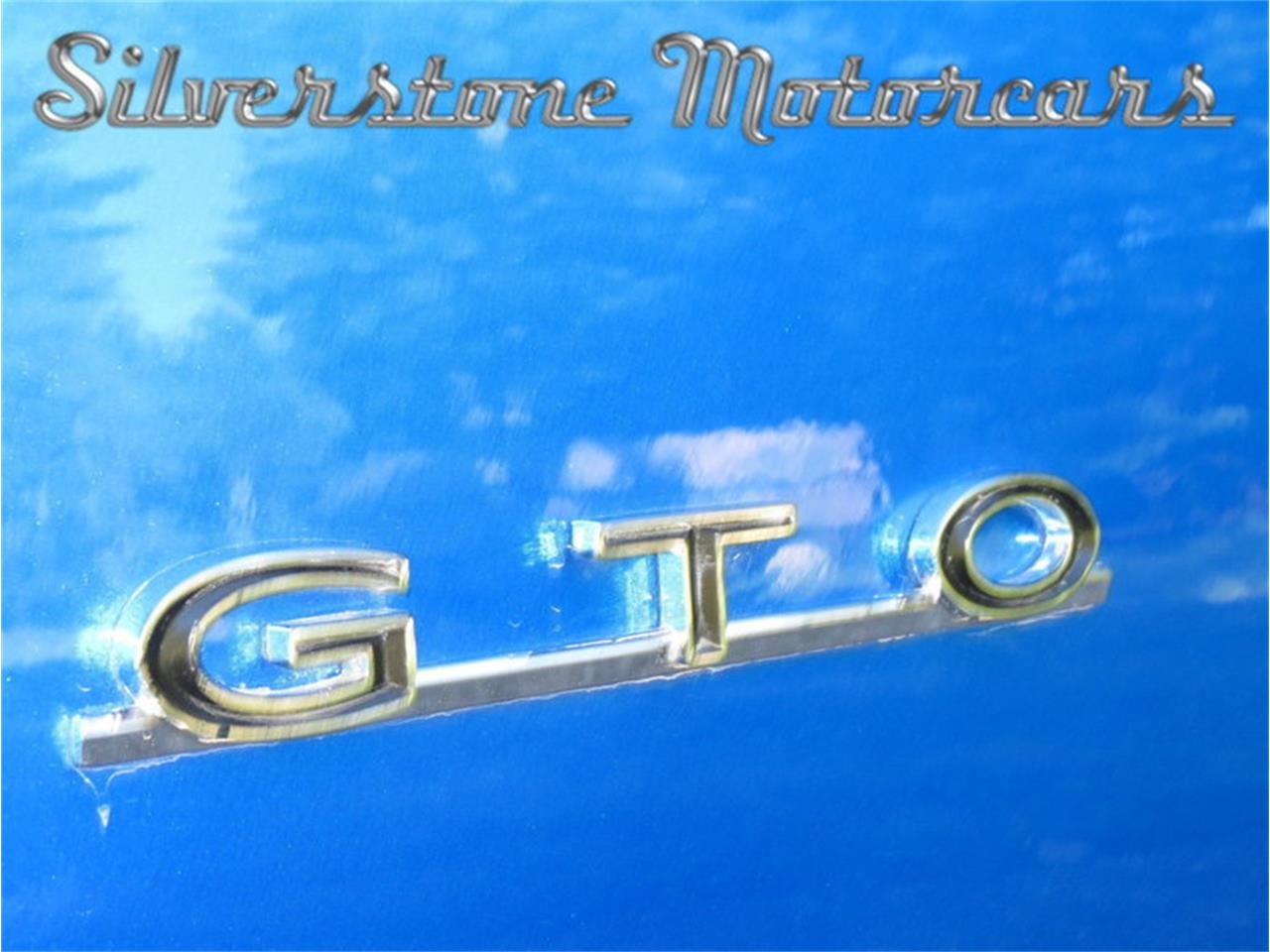 Large Picture of Classic 1967 GTO located in North Andover Massachusetts - JG3G