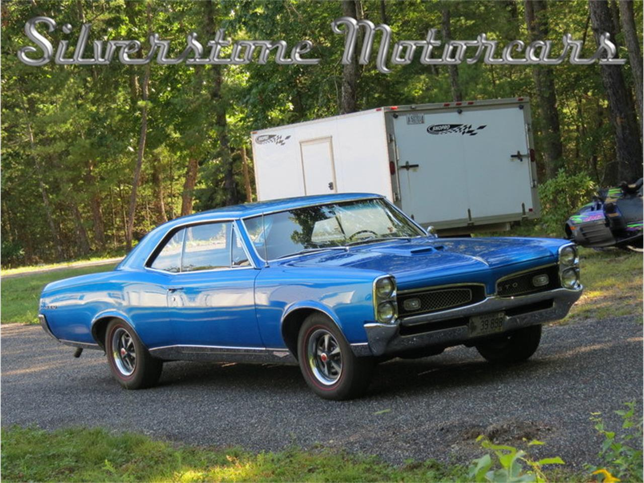 Large Picture of Classic '67 Pontiac GTO - $59,900.00 Offered by Silverstone Motorcars - JG3G