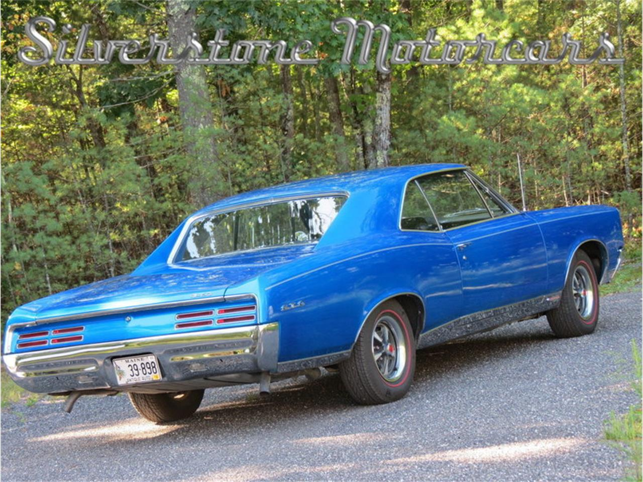 Large Picture of Classic '67 Pontiac GTO located in Massachusetts Offered by Silverstone Motorcars - JG3G