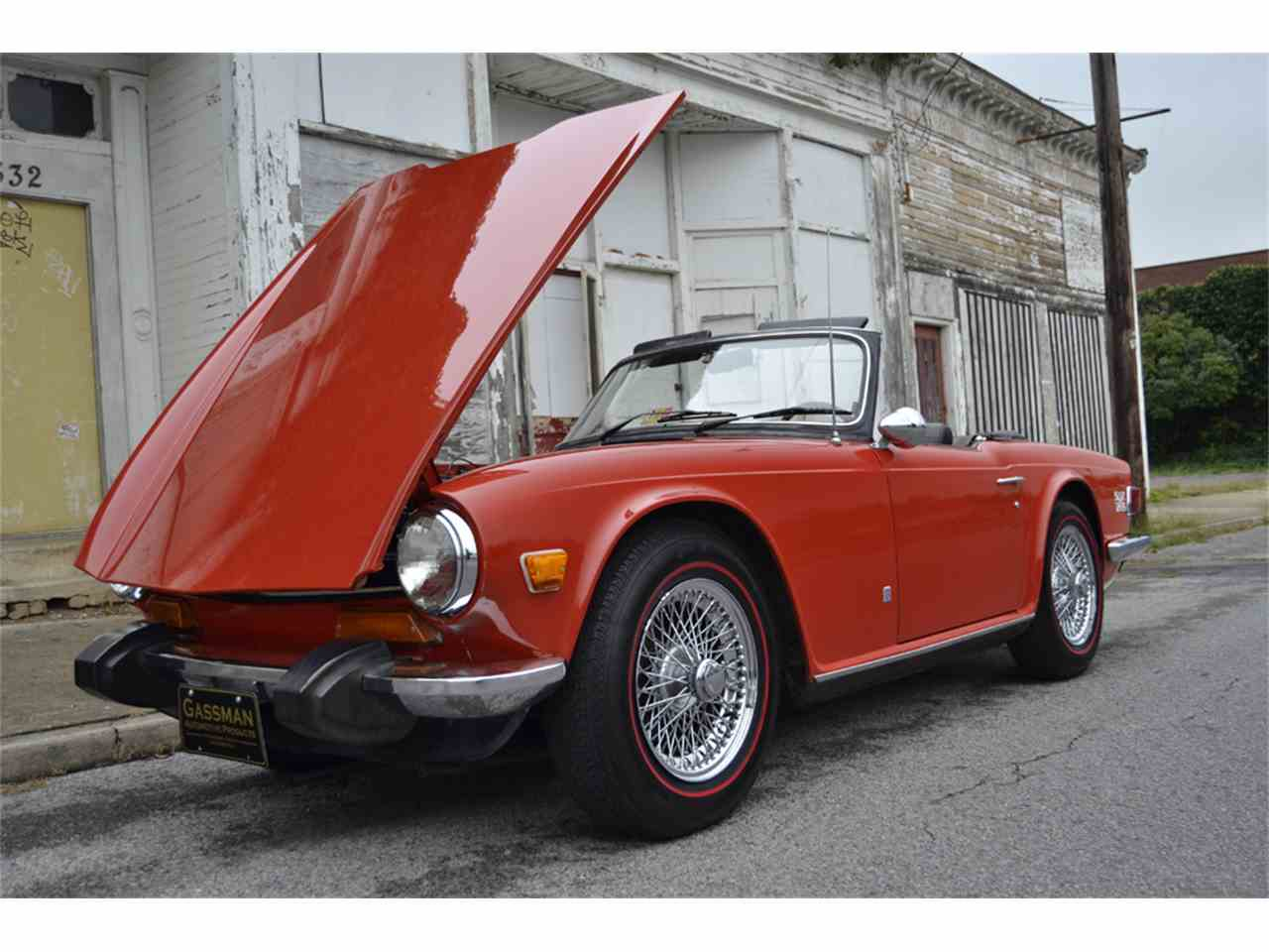 Large Picture of '74 TR6 - JGBC