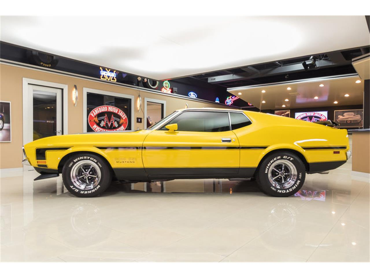 Large Picture of Classic 1972 Mustang Boss 351 Recreation located in Plymouth Michigan Offered by Vanguard Motor Sales - JGDO