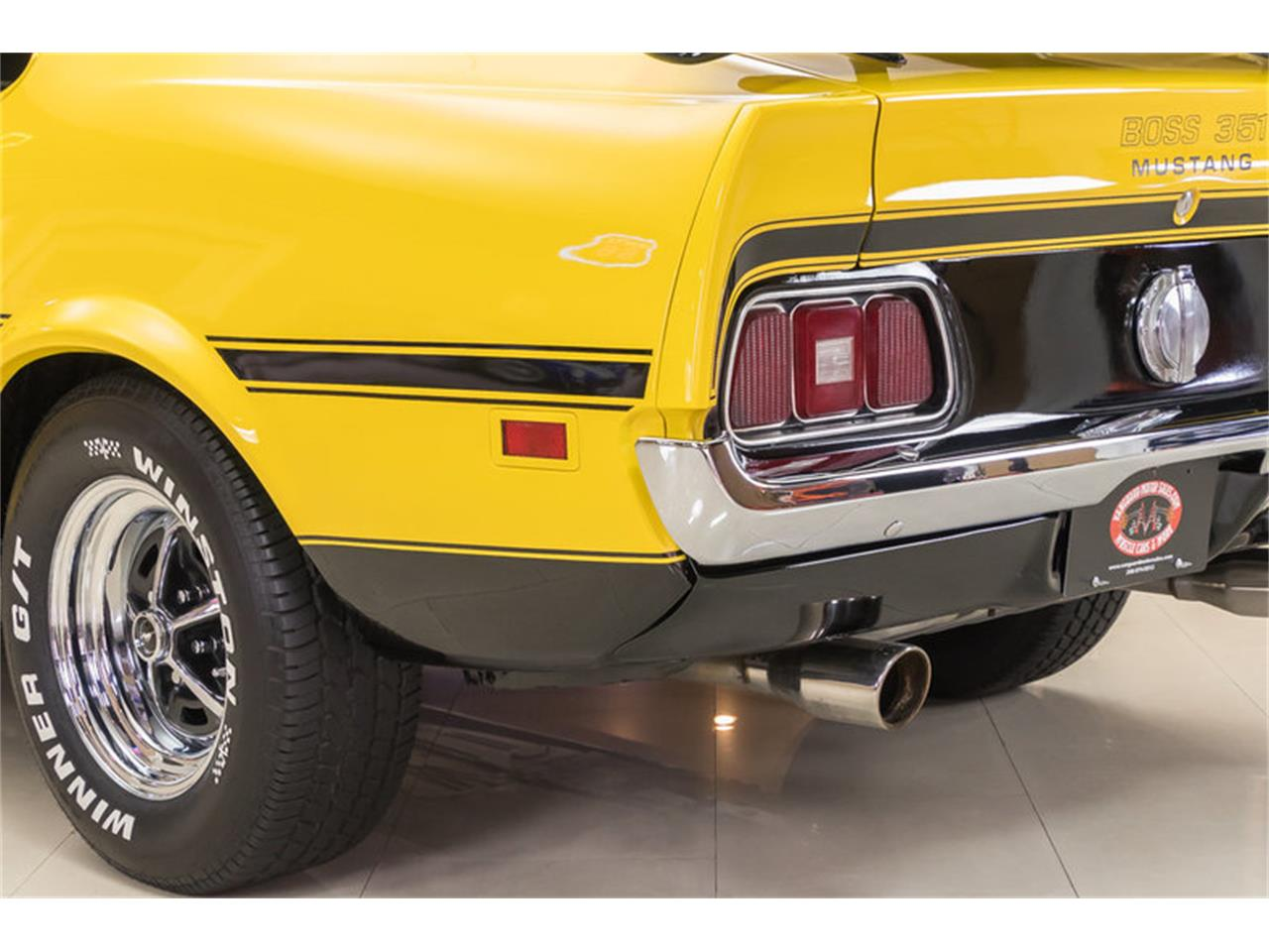 Large Picture of '72 Ford Mustang Boss 351 Recreation located in Plymouth Michigan - $34,900.00 - JGDO